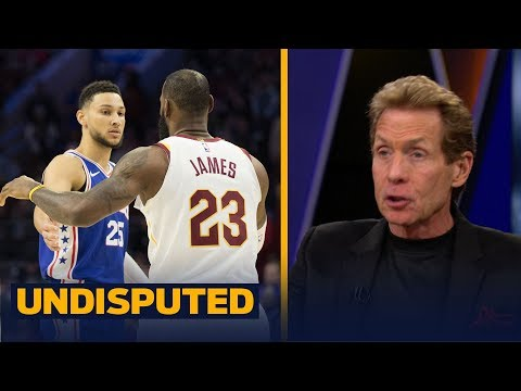 Skip reacts to LeBron's 'Young King' message to Philly's Ben Simmons on Instagram  UNDISPUTED