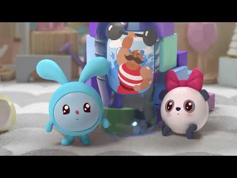 Малышарики - Силачи (Серия 121) Мультики для малышей от 1 года