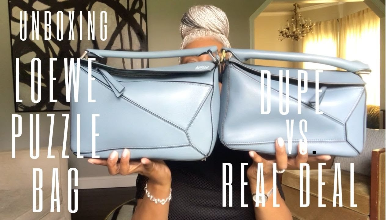 UNBOXING | LOEWE PUZZLE BAG (THE REAL DEAL!)