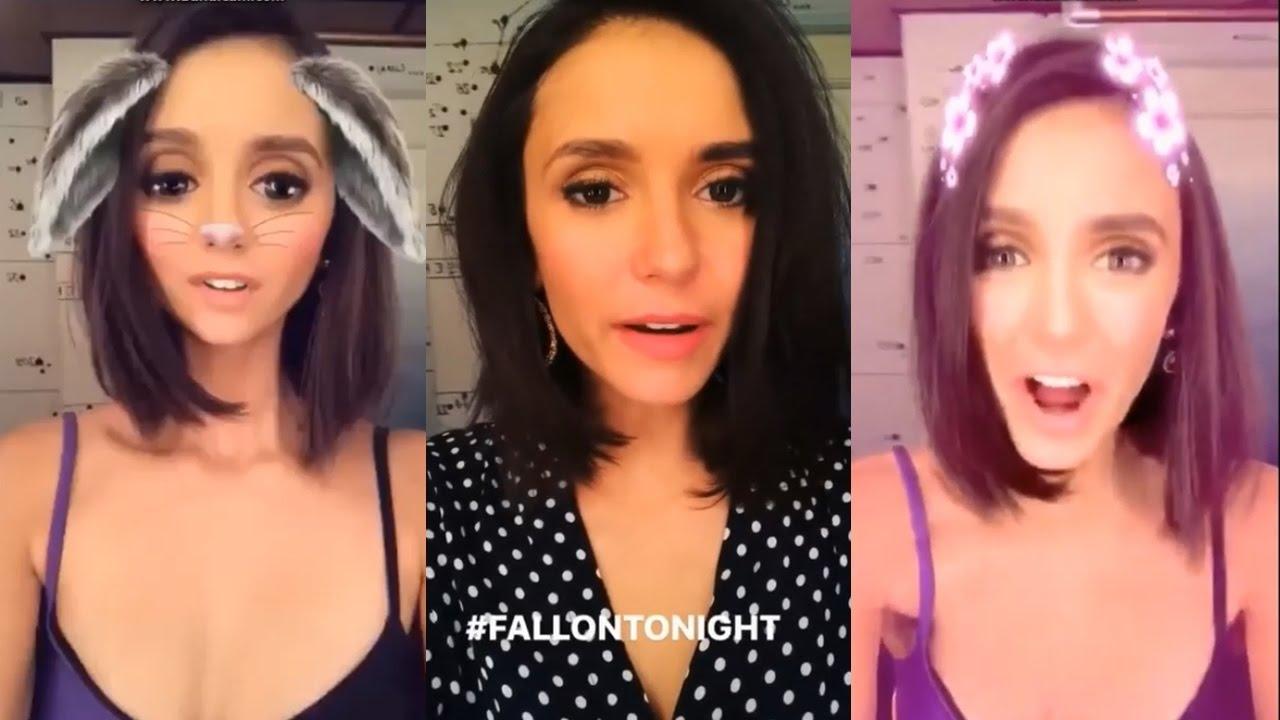Nina Dobrev Snapchat