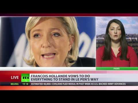 'Ultimate duty' is to ensure France won't choose Le Pen – Francois Hollande