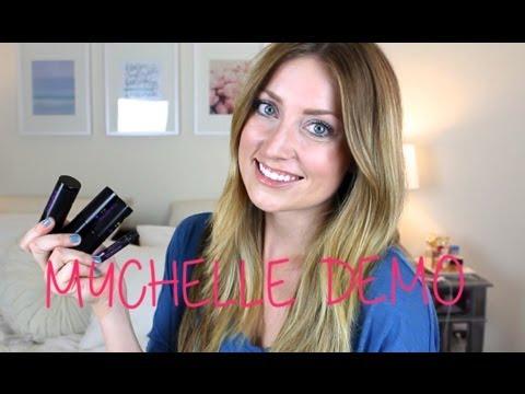 MyChelle Makeup Demo - vlogwithkendra - YouTube