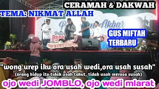 GUS MIFTAH TERBARU meresmikan mushola an-nur judeg Babadan ngancar kediri 30 - 12 - 2019