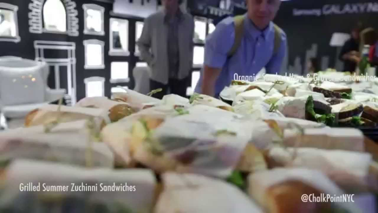 Chalk Point Kitchen: New York Fashion Week (#NYFW Catering) SS15 ...