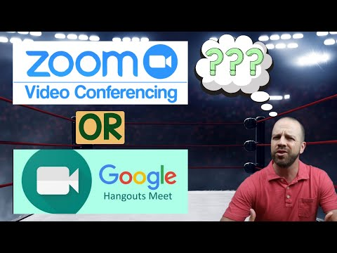 Zoom Vs. Google Meet For Teachers - Which One Should YOU Use?🤷‍♂️💻🎥