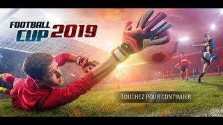 لعبة football cup 2019 للاندرويد مع كوبا أمريكا 2019