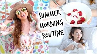 Summer Morning Routine! | Meredith Foster