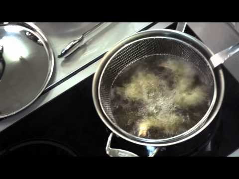 Deep Frying Technique with the All-Clad Stainless Steel Fry Basket