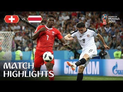 Switzerland v Costa Rica - 2018 FIFA World Cup Russia™ - Match 42