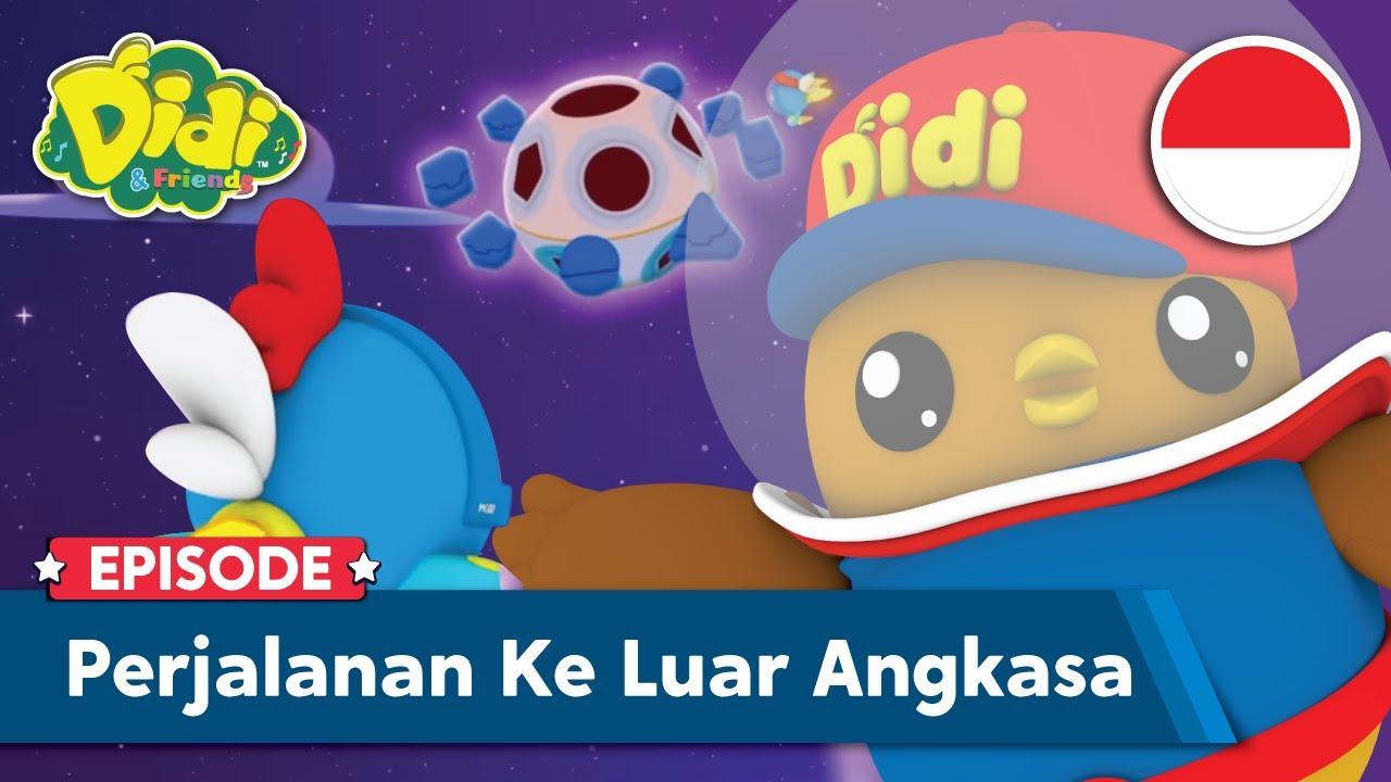 Perjalanan Ke Luar Angkasa | Lagu Anak-Anak Indonesia | Didi & Friends Indonesia