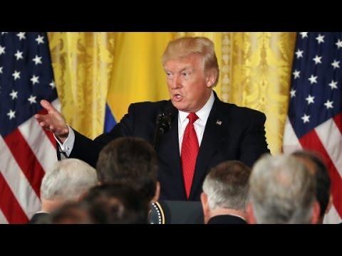 Trump denies asking Comey to stop Flynn probe