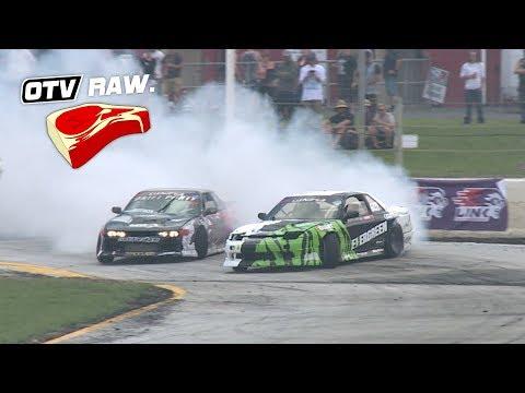 OTV RAW: Callum Neeson VS James Steele - D1NZ Drifting R1 Wellington 2018