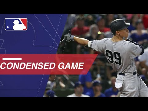Condensed Game: NYY@TEX - 5/21/18