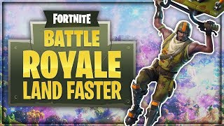 "How To Land Fast in Fortnite ""Fortnite Battle Royale Tips & Tricks"" (How To Fall Faster in Fortnite)"