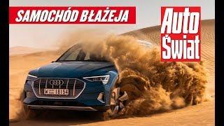 Audi e-tron – test w Abu Dhabi