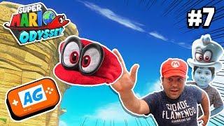 Se ha Enfadado el Pulpo Gigante Calvorotas de Super Mario Odyssey