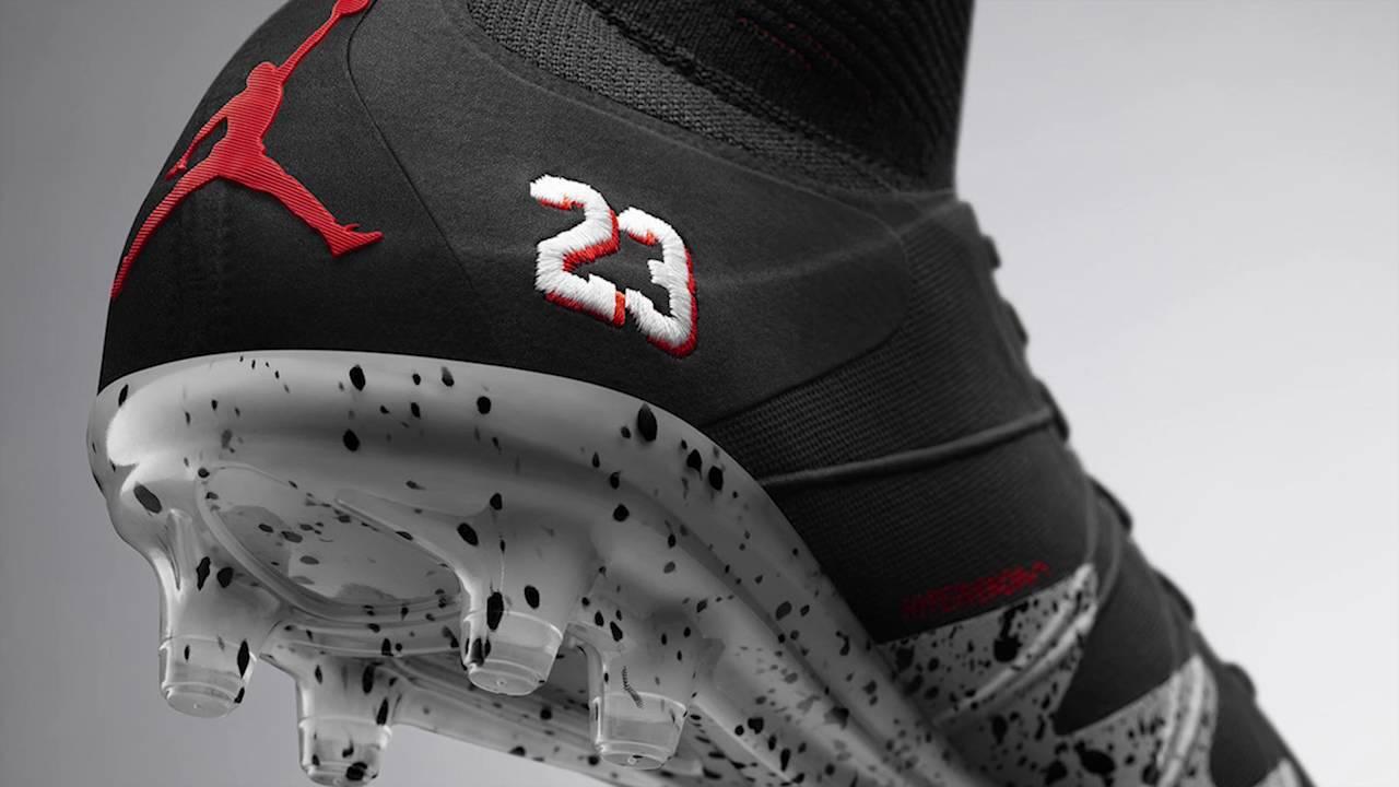 100% authentic 61cb6 f7d64 Les nouveaux crampons Nike Air Jordan de Neymar (NJR X JORDAN Hypervenom)