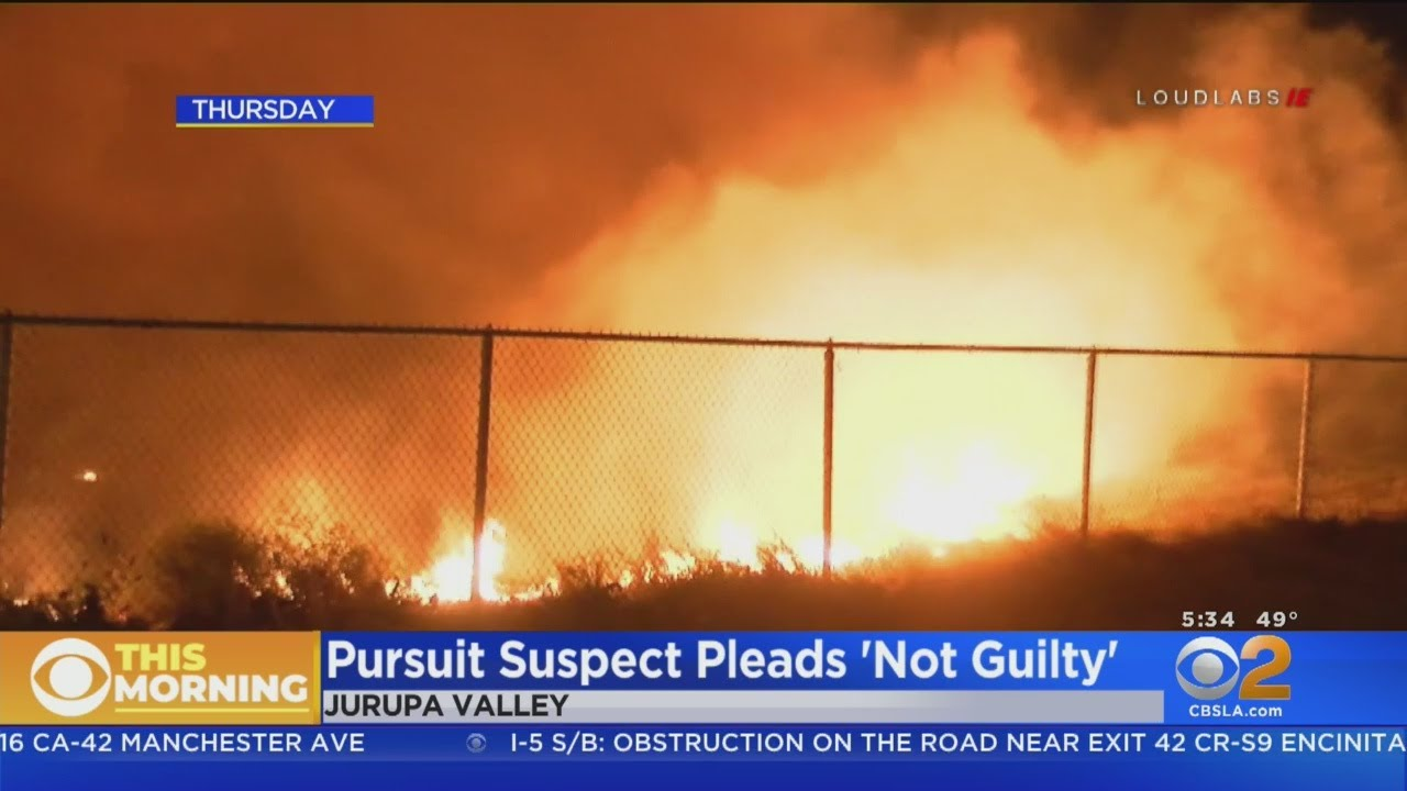 Criminal Charges Filed In Connection With Pursuit That Sparked 46 Fire