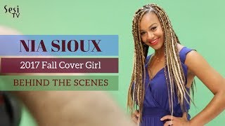 Nia Sioux Cover Shoot - Behind the Scenes