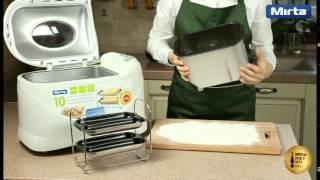 Рецепт - багеты с сыром - хлебопечь Mirta BM2088