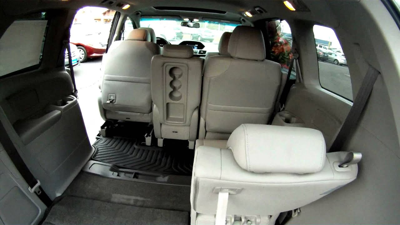 2017 Odyssey Fold Flat 3rd Seat Cargo Area