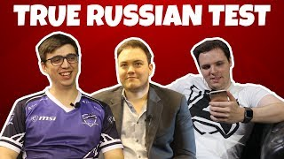 TRUE RUSSIAN TEST - DOTA 2 (ft. AdmiralBulldog, Madara and SirActionSlacks)