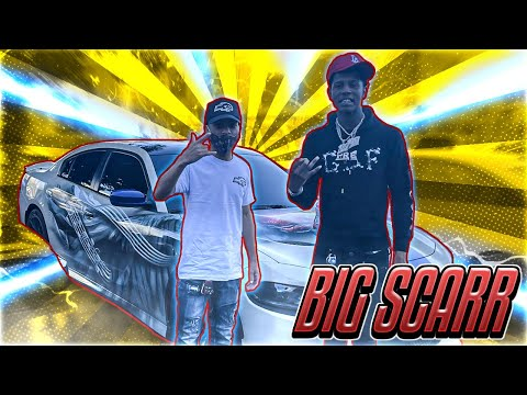 RAPPER BIG SCARR DID DONUTS IN HELLCAT! TALKS GUCCI MANE, POOH SHIESTY, & LIFE EXPERIENCES!