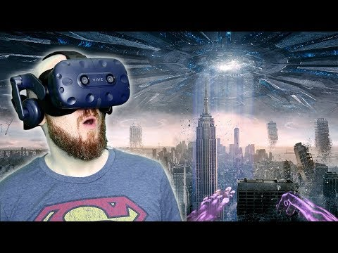 SAVING THE WORLD IN VIRTUAL REALITY!! Megaton Rainfall HTC Vive Pro Gameplay