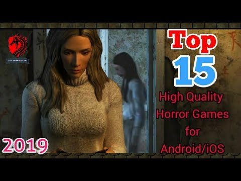 Top  Best High Quality Horror games for Android/iOS ||HD Graphics||Offline