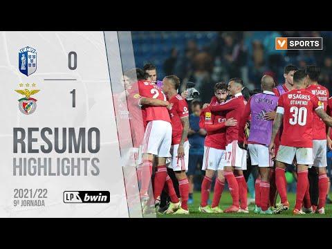 Vizela Benfica Goals And Highlights