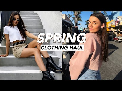 huge try-on spring clothing haul