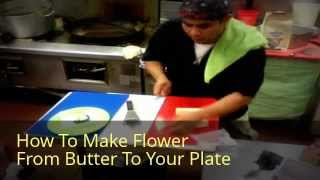Tsp How To Make Flower From Butter Video