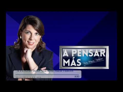 A PENSAR MÁS CON ROSA MARÍA PALACIOS 23/04/19