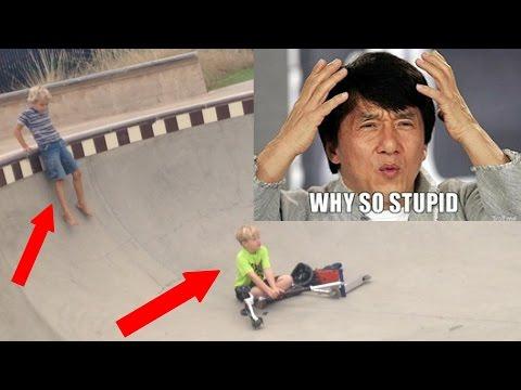 Super Annoying Scooter Kids At Alga Skatepark!