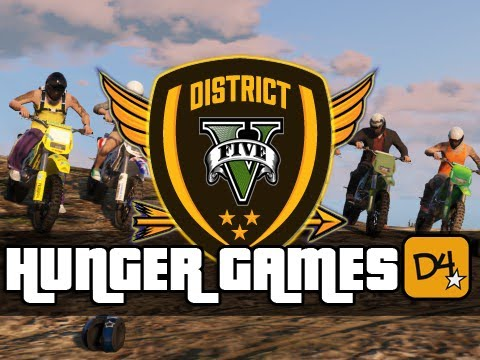 GTA 5 Online Hunger Games! - Custom Map, Snipers and Camping! (GTA V)