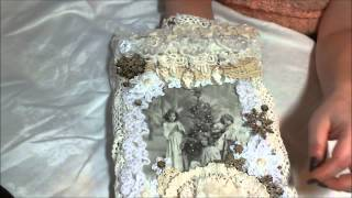 Glamourous Vintage Shabby Chic Wallhanging