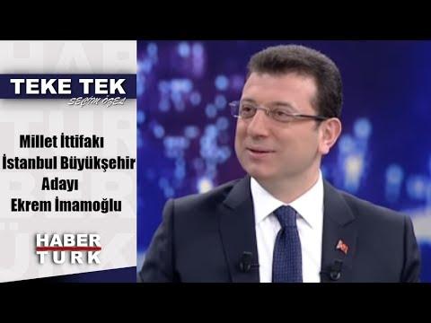 Teke Tek Seçim Özel - 24 Mart 2019 (Millet İttifakı İstanbul Büyükşehir Adayı Ekrem İmamoğlu)
