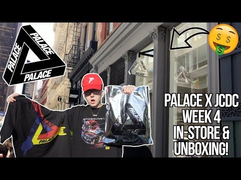 """CRAZY PALACE x JEAN-CHARLES WEEK 4 NYC IN STORE VLOG 