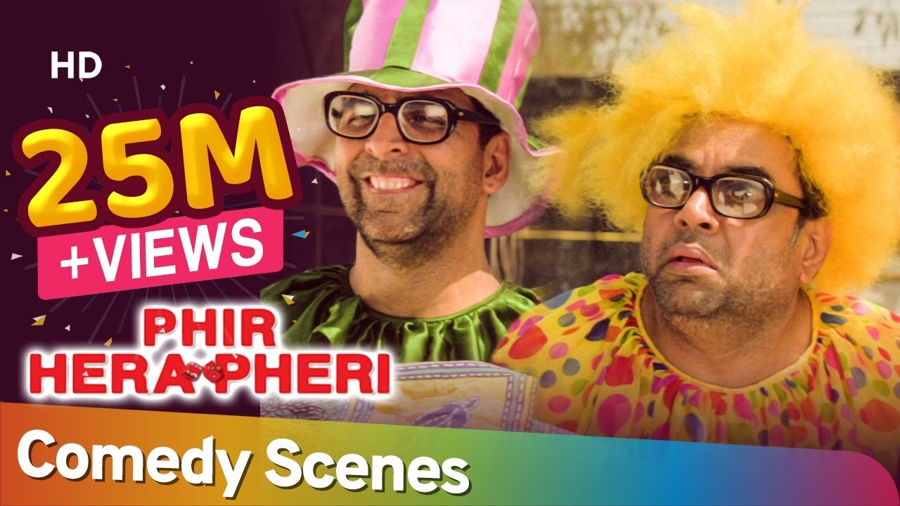 Download Phir Hera Pheri | Comedy Scenes | Akshay Kumar-  Paresh Rawal - Rajpal Yadav - Johny Lever