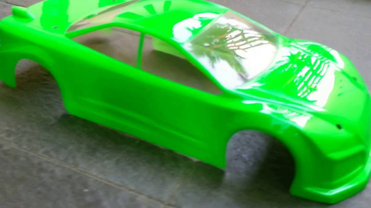 Rc Car Body Shell 1 10 Painting Youtube