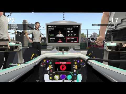 F1 2015 - Legend - Practice 2 - AUSTRALIA