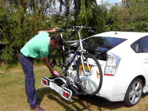 Ongekend Toyota Prius III fietsendrager / bike carrier Thule EuroClick GX-45