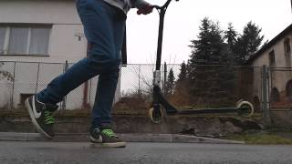 Tail-whip Cz (Tel-Whip) tutorial Scootering