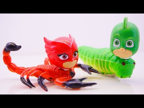 CAF Kids Pj Masks Wrong Heads Scorpion - Learn Colors For Children And Toys