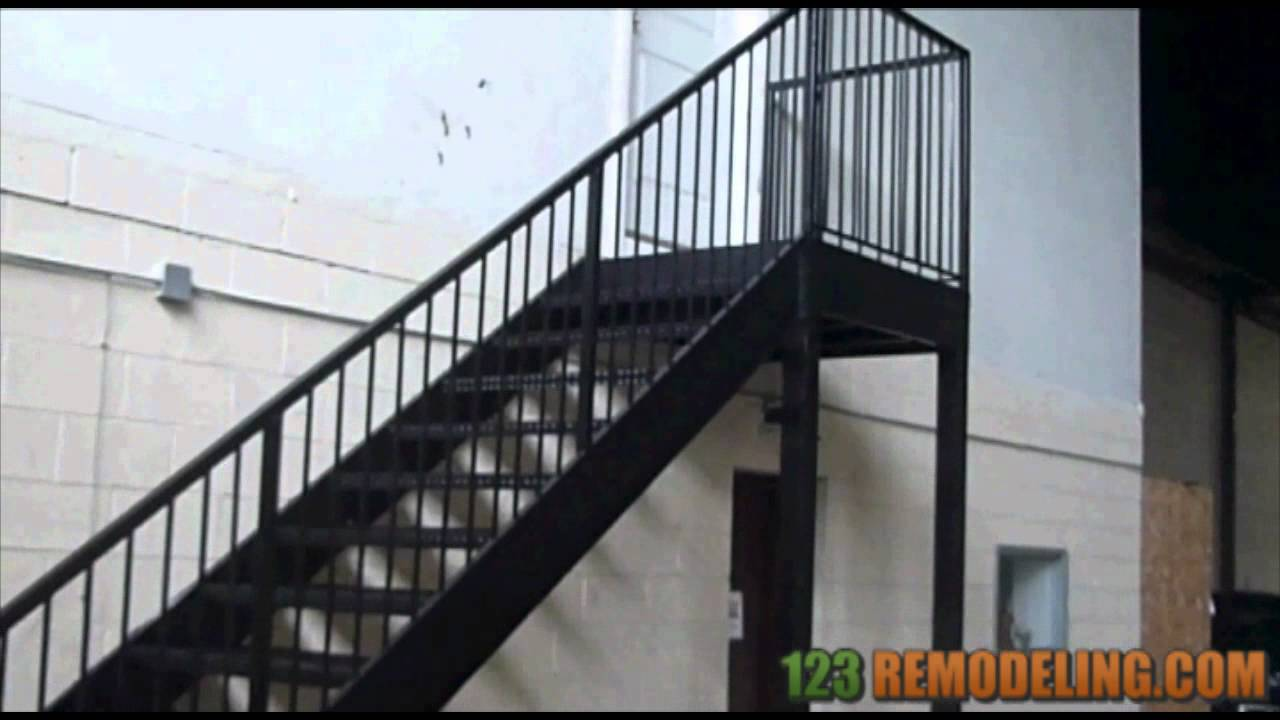 Beautiful Jefferson Park Commercial Staircase Installation