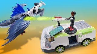 Детские игрушки из мультика Супер 4. На остров драконов!