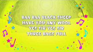 Baa Baa Black Sheep Karaoke