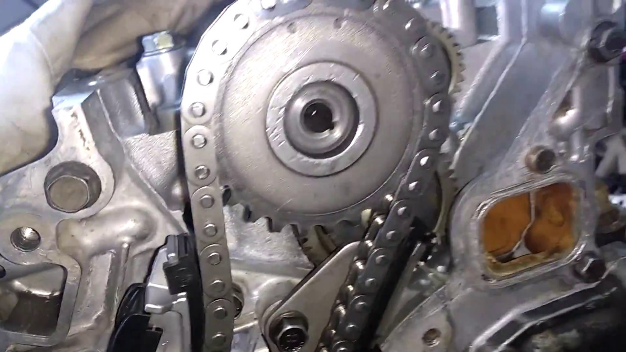 Puesta A Punto Cadena De Distribución (Timing Chain) Motor ...