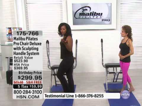 Malibu Pilates Chair Customized Makeup Chairs Pro Deluxe With Sculpting Handle Sy... - Youtube