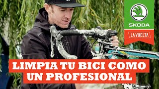 Limpia tu bici como un profesional | Ibon Zugasti | La Vuelta con Škoda
